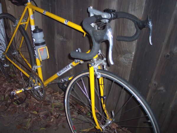76832ea9b65 ... purchased new in 1971 and ridden for many years. Now it lives next to  the fence and spends it time oxidizing its chain. I hope the cycling gods  aren't ...